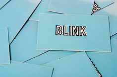 Blink - Amanda Jane Jones #branding
