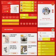 Tobuku Free Mobile Ecommerce UI Kit