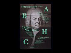 Bureau Collective – Sinfonieorchester St.Gallen #typo #poster