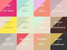 lovely color combos #lovely #color #combos