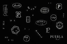 PUEBLA 109 #logo #branding #identity #stamp #savvy