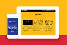 Get Set Festival by Epiforma #branding #website #web design