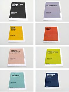 FFFFOUND! | 2009: Type Specimen Portfolio :: Typography Served #design #graphic