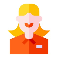 See more icon inspiration related to professions and jobs, businesswoman, user, woman, avatar, profile, people and social on Flaticon.