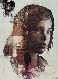 The Last of Us by StudioKxx Krzysztof Domaradzki #game #paint #texure