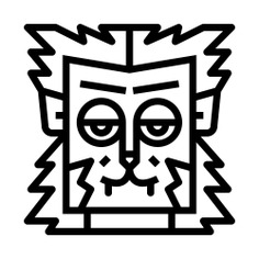 See more icon inspiration related to werewolf, spooky, terror, scary, fear, horror, halloween and animals on Flaticon.