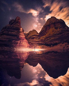 Dreamlike and Alien Looking Landscape Photography by Jaxson Pohlman