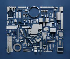 jim #inspiration #creative #knolling #examples #photography #knoll #organization