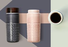 """ONE-O-ONE"" - Travel Mug by Hangar Design Group"