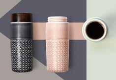 """ONE-O-ONE"" - Travel Mug by Hangar Design Group"