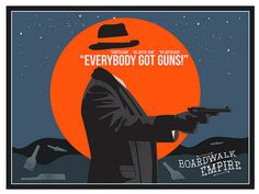 Here's my latest design, another unofficial poster for one of my favorite TV shows Boardwalk Empire!
