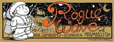 GigPosters.com - Rogue Wave - Man/miracle - Jbm #screen #print