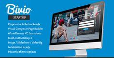 Bivio - Mobile App Landing Page WordPress Theme
