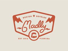 #logo #type #mark #vintage #retro #brand #seal #florida #badge #crest
