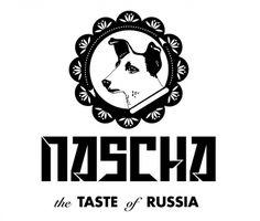 Nascha Logo, Astronaut Dog #astronaut #russia #laika #logo #dog