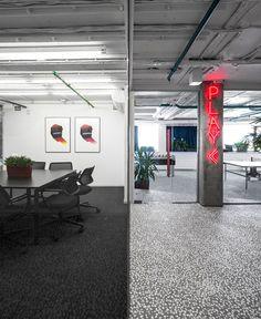Vizor Office Interior by Studio 11 #office #interior #decor