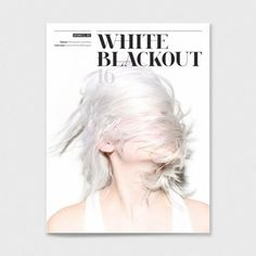 drapht #magazine #white on white #black out
