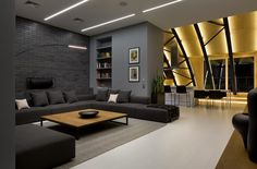 High Lounge in the Downtown of Kyiv