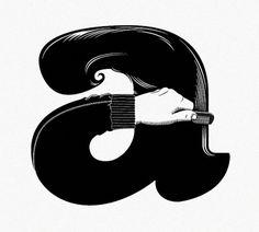 5485587540_343636a03c_z.jpg (640×576) #illustration #typography