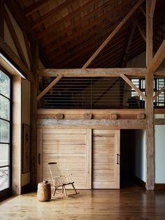 California Family Retreat – Big Sur Barn by Studio Schicketanz