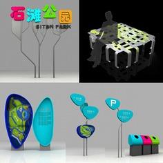 Wayfinding | Signage | Sign | Design | park | scenic 公园景点导视系统设计