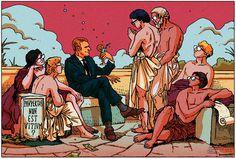 Le Monde - Newspaper Illustration 5 on Behance