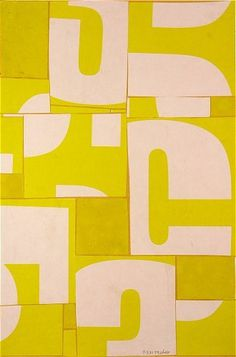 cecil touchon | contemporary art #touchon #cecil #yellow #typography
