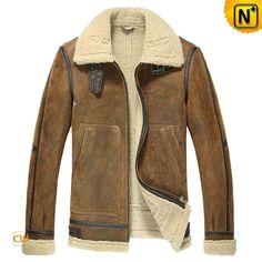 B-3 Sheepskin Bomber Jacket #sheepskin #3 #jacket #bomber
