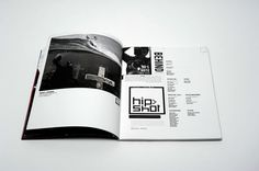 Hip Shot Magazine on Editorial Design Served #layout #design #magazine