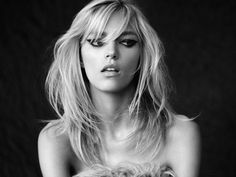 Anja Rubik by Victor Demarchelier #model #girl #photography #portrait #fashion