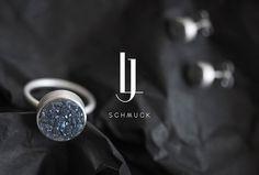 Jennifer Lingg Schmuck by Rosali Thomas #logo #logotype #jewellery