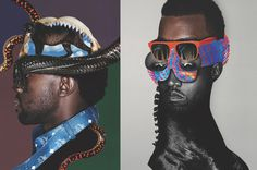 Image of Inside Kanye West's Creative Agency DONDA #creative #west #kanye #donda #collage #paper