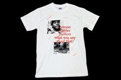 Catalogue Graphic Design, Leeds, UK #design #tee #gangster #shirt