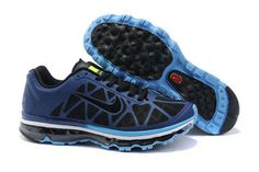 Nike Air Max 2011 Binary Blue Black Blue Glow Volt-Mens