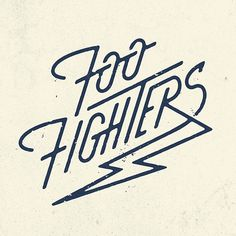 Foo Fighters by Pavlov #poster #logo