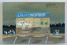 laundromat estherpearlwatson.com #esther #illustration #pearl #watson