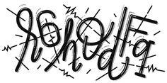 ReCaptcha on Behance #lettering #direction #illustration #art #typography