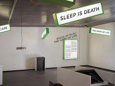 Notter + Vigne #instalation #typography