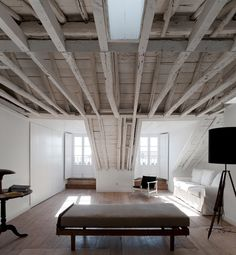 CJWHO ™ (Rehabilitación Fanqueiros, Lisboa, Portutal | José...) #white #design #interiors #wood #photography #luxury