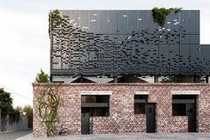Original Metal - Brick Facade