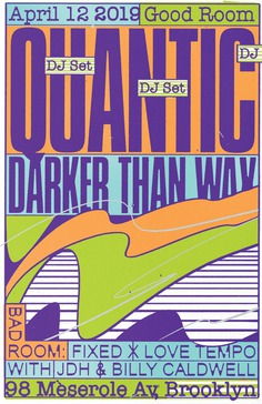 RA Tickets: Quantic Residency with Darker Than Wax Plus Fixed x Love Tempo at Good Room, New York