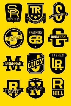 DDBº英国徽章印刷术服务 #logotype #typography