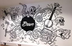Some stills of the piece at Brave   AS FEATURED ON THE APPRENTICE!If you need a bally good agency   theys yo peeps. http://www.brave.co.uk