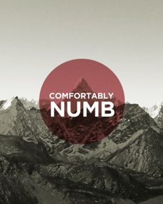 Please Invite Me #comfortably #mountain #red #numb #poster #circle #noic