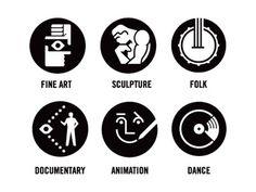Monocle_culture #pictogram #icon #sign #picto #symbol