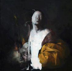 La Dialettica Del Mostro Agnese – Nicola Samorì #paint #dripping #nicolas #samori
