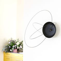 The Orbits Clock by Studio Ve new and unique wall clock - www.homeworlddesign. com (1) #clock #wall