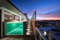 CJWHO ™ (Coppin Penthouse by JAM Architects) #design #interiors #pool #melbourne #penthouse #australia #luxury
