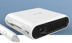 The Touchpico is a compact, wireless, multi-functional touchscreen projector for both work and play.