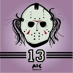 13th on the Behance Network #jason #friday #character #purple